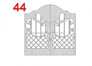 Disegni cancelli in dwg : catalogo 3.16