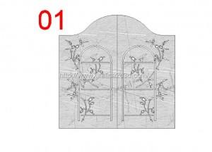 Disegni cancelli in dwg : catalogo 1.18