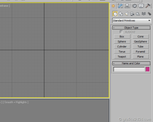 panel command in 3ds max 01