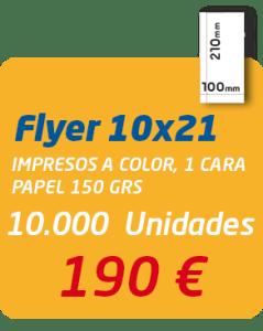 Graficas Mundo - Oferta impresion flyer 10x21 cm