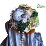 Ramo de novia vintage Bora-Bora 111 ok