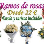 Envío de ramo de rosas