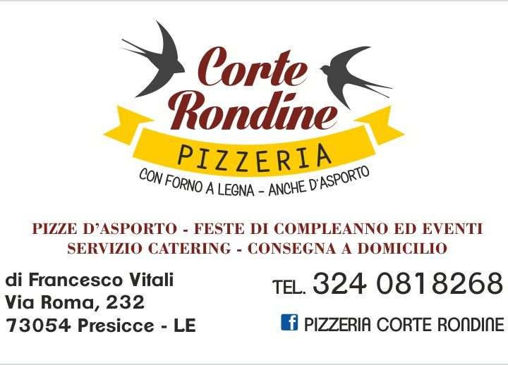 Corte Rondine – Pizzeria