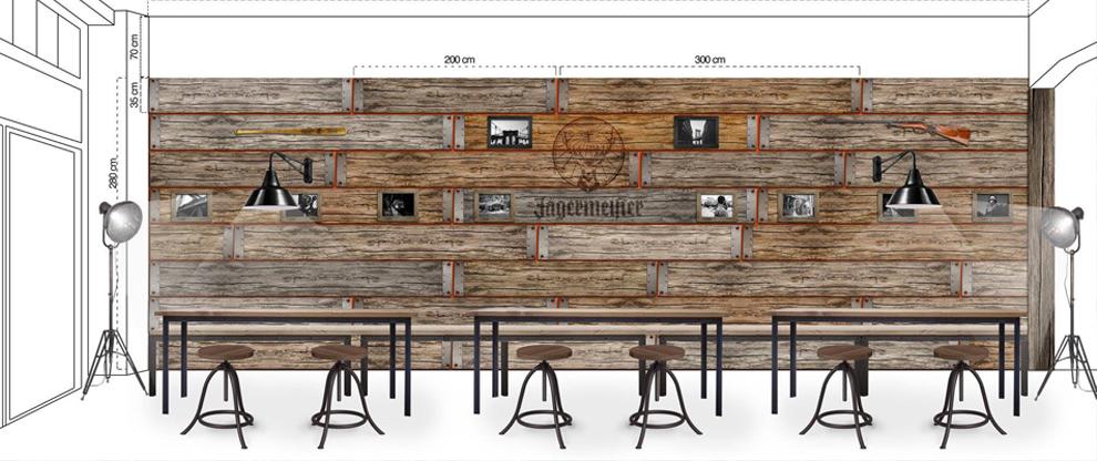 Innenraum Visualisierung, grafik, architektur, interior design, gestaltung, looks, wände, gastro, waldbrand media, 3d, rendering
