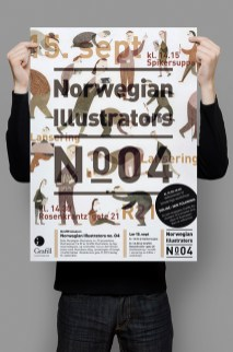 Norwegian Illustrators poster