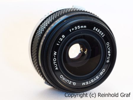 Olympus OM-System G.Zuiko Auto-W 2.8/35mm