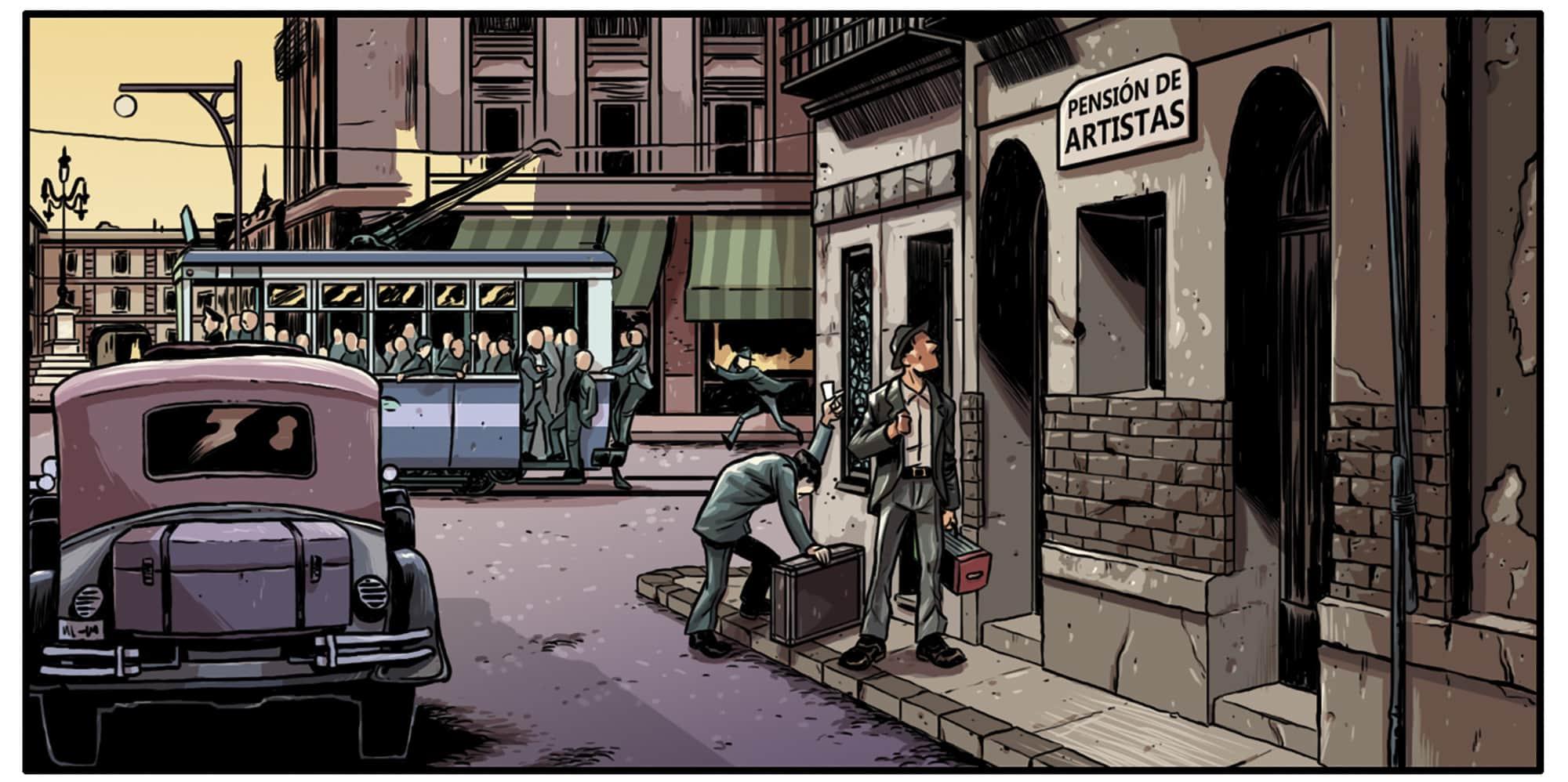 Madrid años 20 en el cómic SATANELA