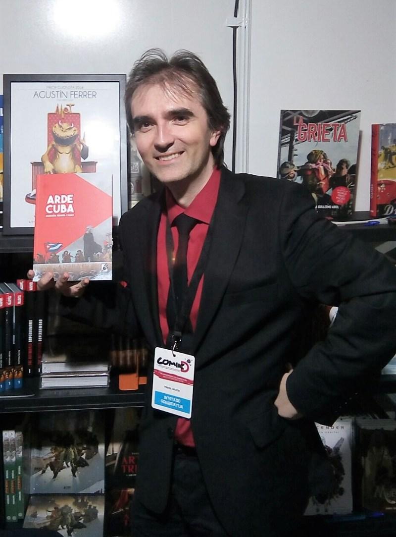 Agustín Ferrer Arde Cuba