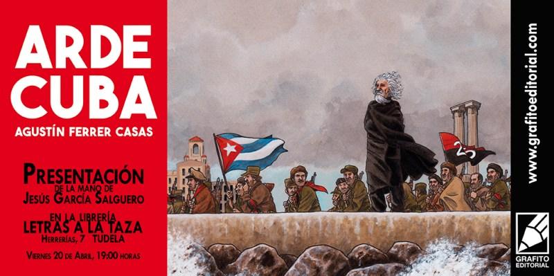 Arde Cuba Presentación Letras a la Taza 72ppp