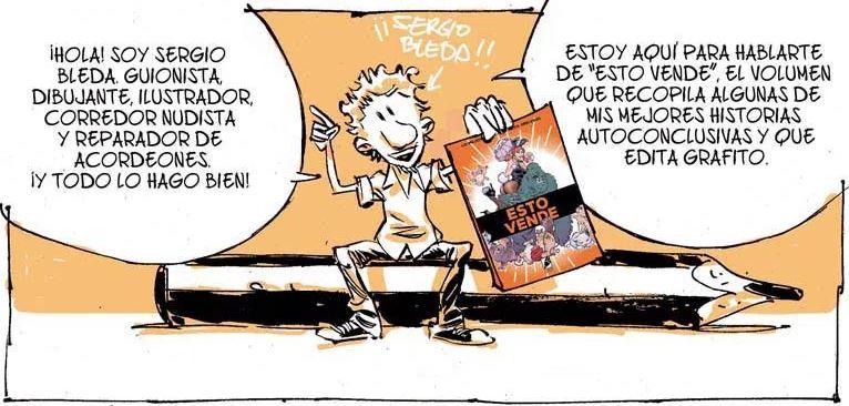 SERGIO BLEDA ESTO VENDE comic