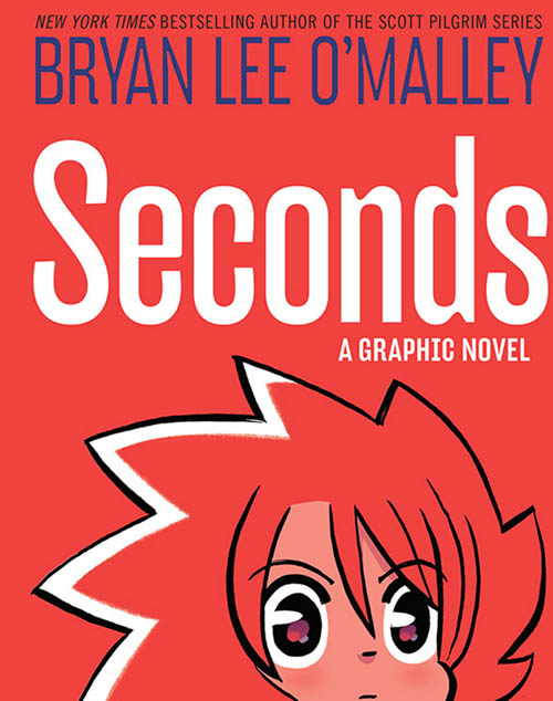 portada del cómic SECONDS de Bryan Lee O'Malley