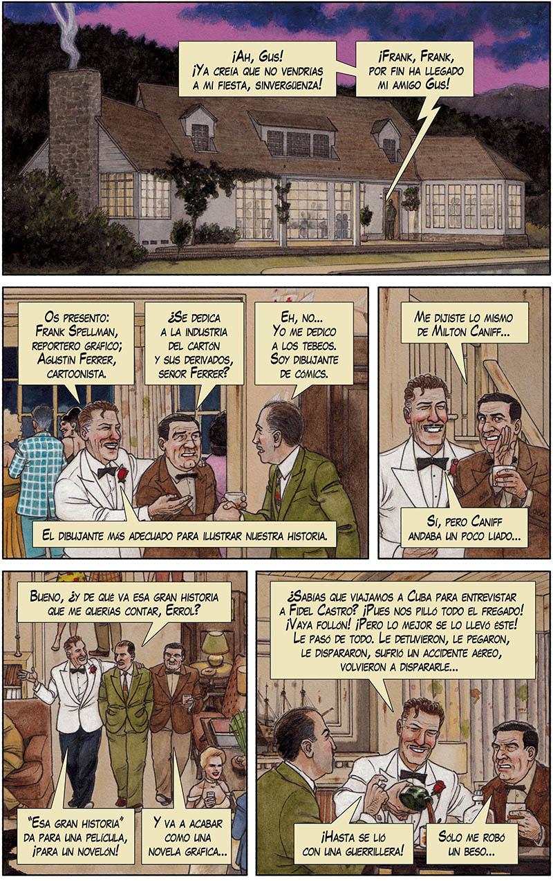 Arde Cuba, un cómic de acción durante la Revolución