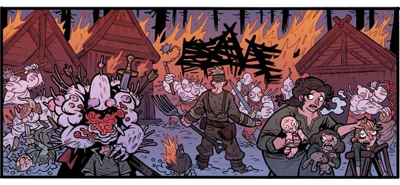 Ragnarok en el REY ARAÑA, un comic de vikingos con altas dosis de ciencia ficción