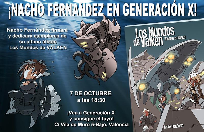 Nacho Generación X Valencia