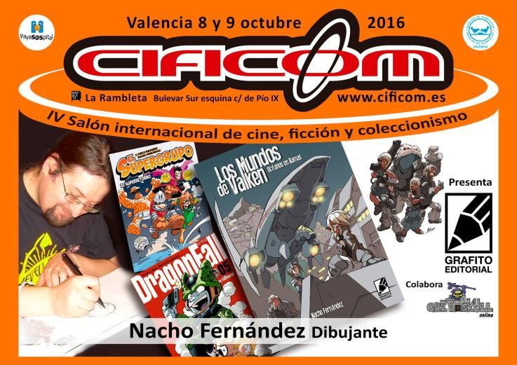 Nacho Fernández Grafito Editorial