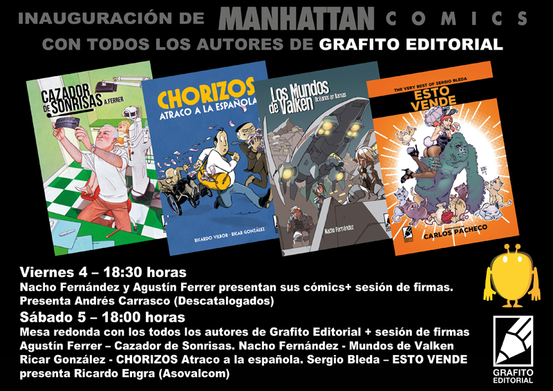 Evento manhattam comic