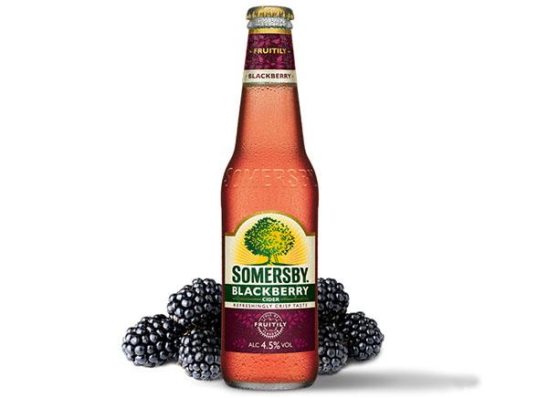 botella de somersby blackberry