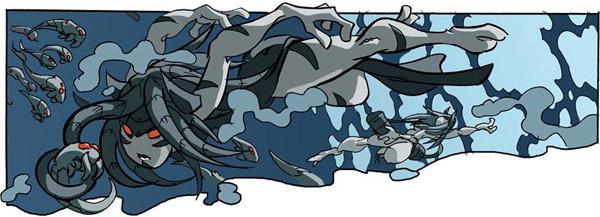 Raza VALYAR del cómic Los mundos de Valken, de Nacho Fernandez