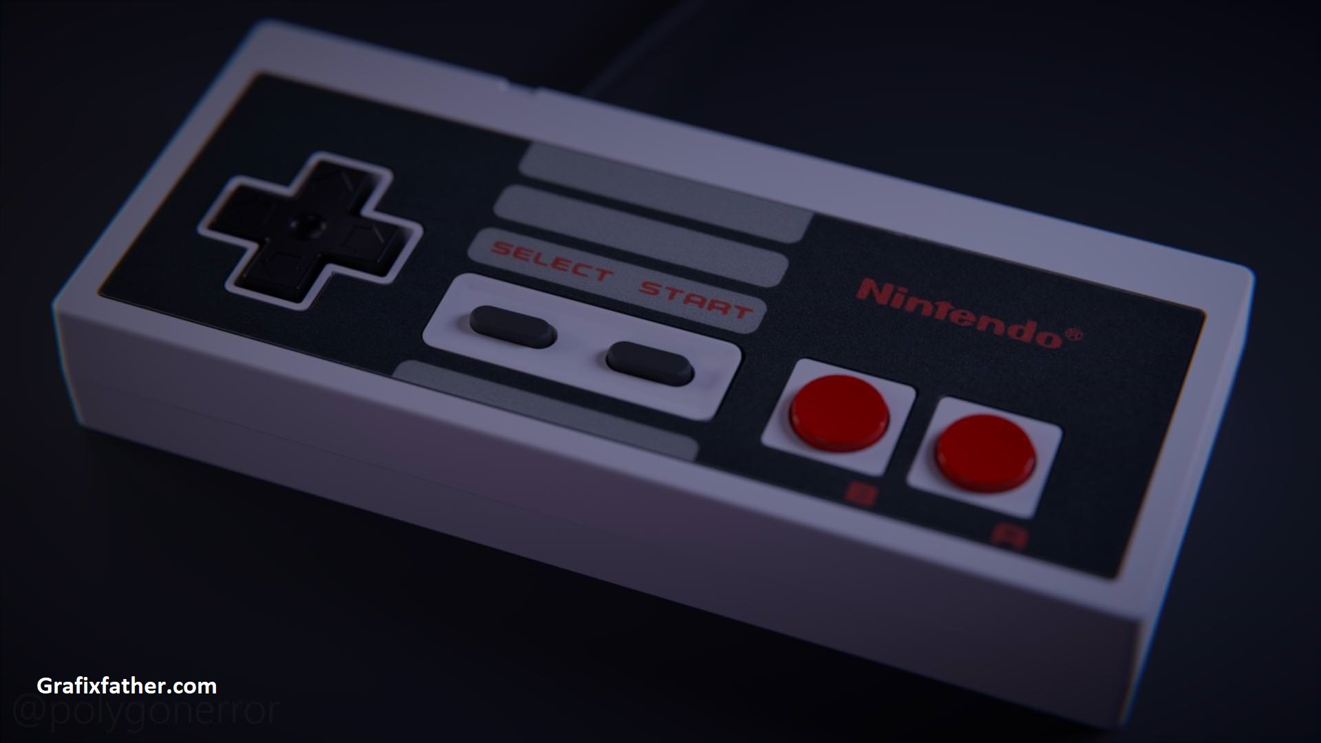 Download] Blender Basics NES Controller with Vaughan Ling Free