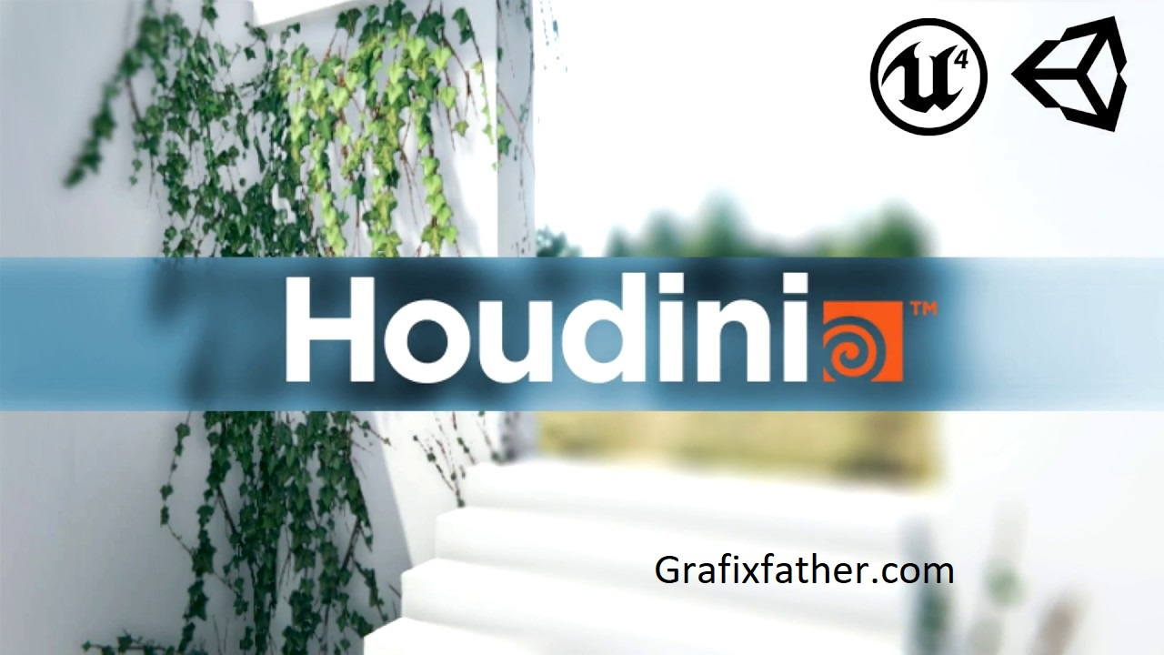 Download] Create foliage for Games with Houdin Free - Grafixfather