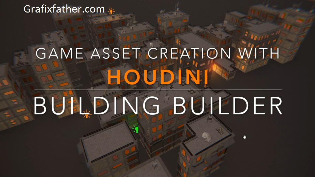 Download] Game Asset Creation with Houdini Procedural