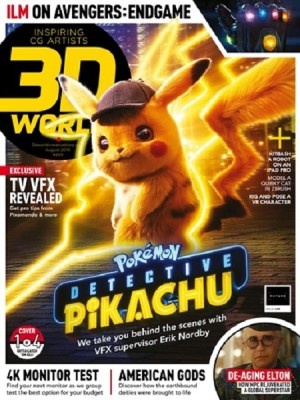 3D World UK August 2019