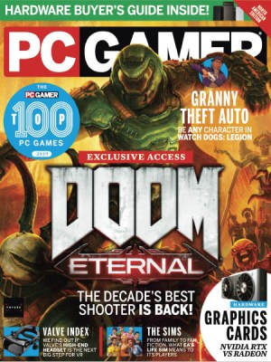 PC Gamer USA October 2019
