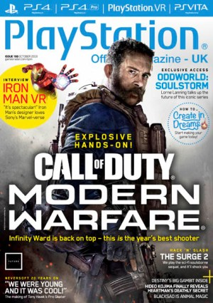 PlayStation Official Magazine UK October 2019