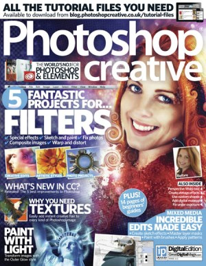 Photoshop Creative Issue 111 Fantastic Projects For Filters