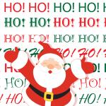 Santa Claus Ho Ho Ho   Grafix66 Designs   Zazzle