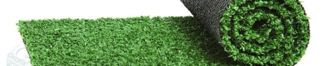 A roll of artificial turf that needs to be seamed using our Polyseam plastic film product