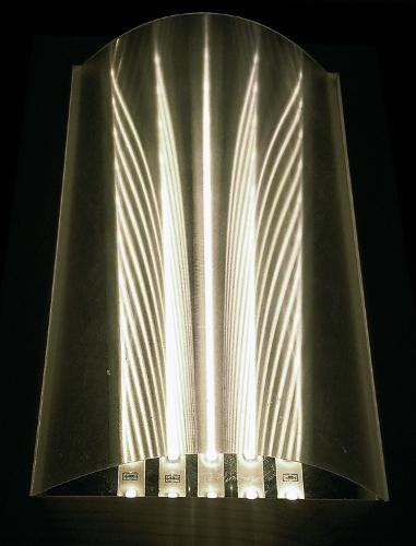 Arched Asymmetric Linear Diffuser Film