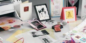 Desktop printable inkjet film and sheets
