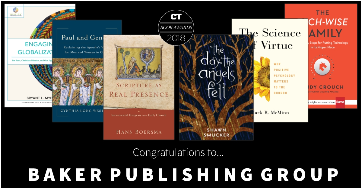 Christianity Today 2018 Book Awards