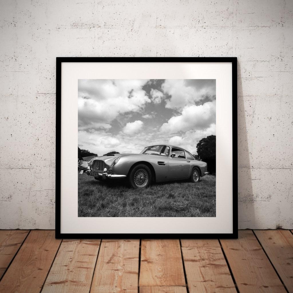Aston Martin Fine Art Print