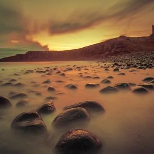 Dunstanburgh Castle Sunrise Print