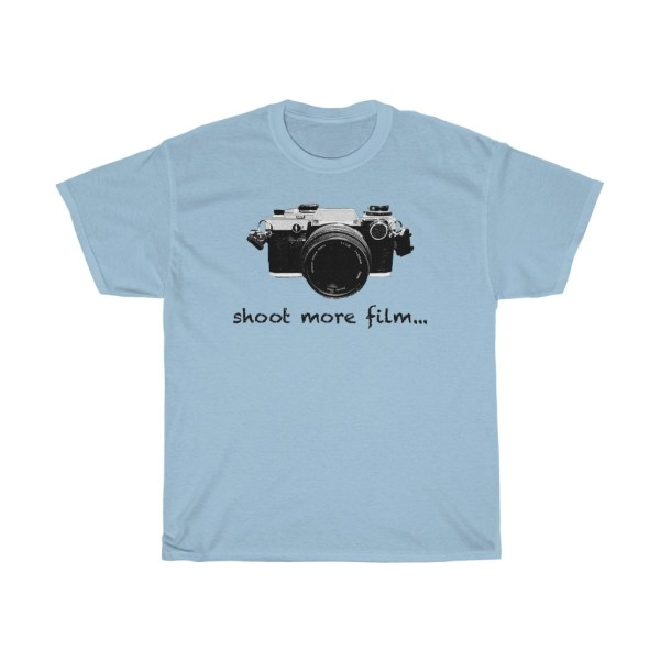 shoot more film Olympus t-shirt