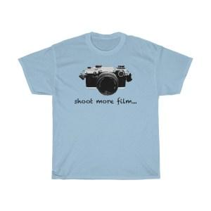 shoot more film Olympus t-shirt