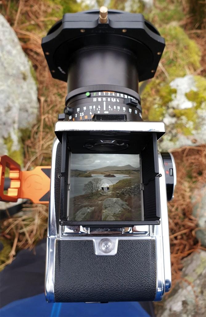 Snowdonia hasselblad viewfinder