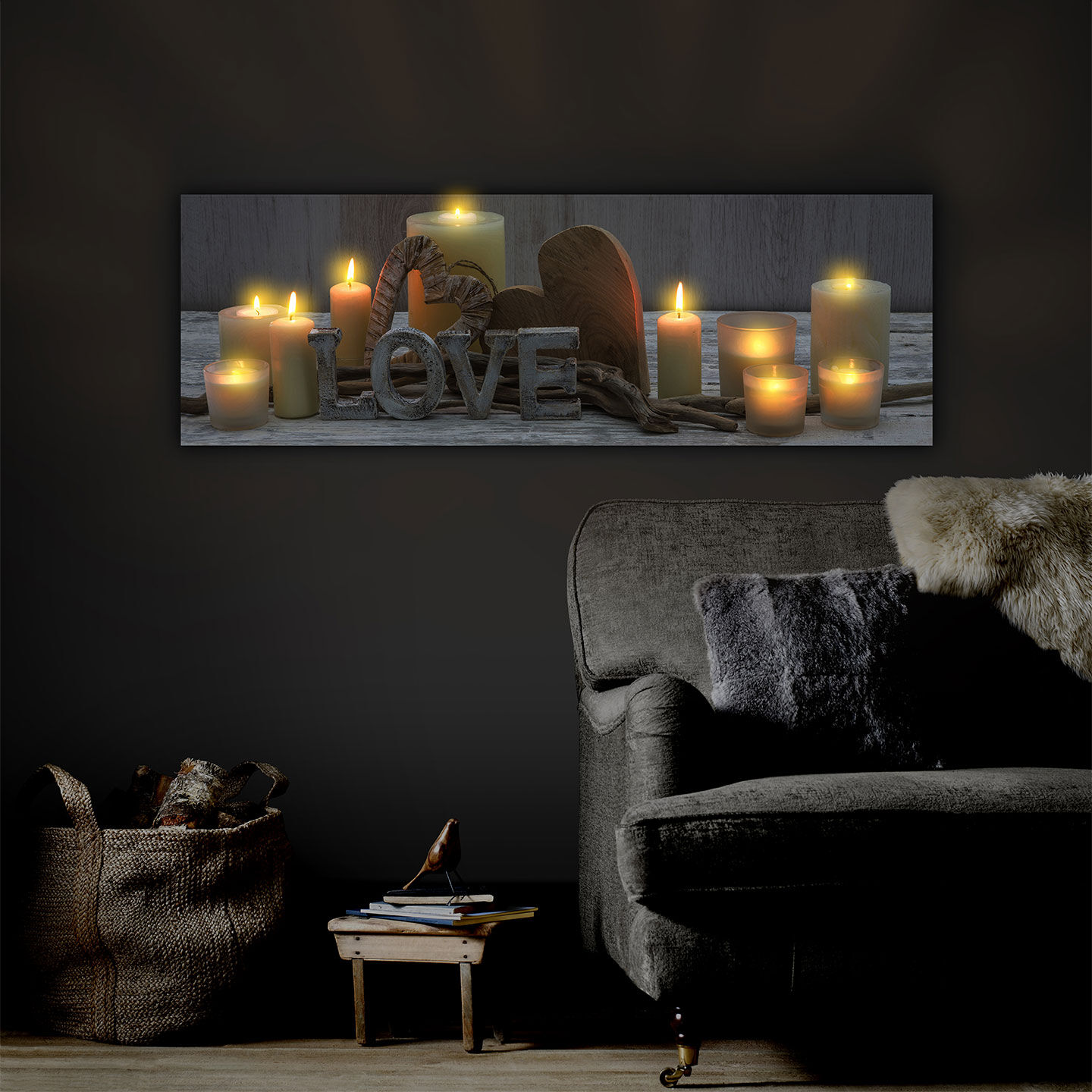 Canvas Led Lights