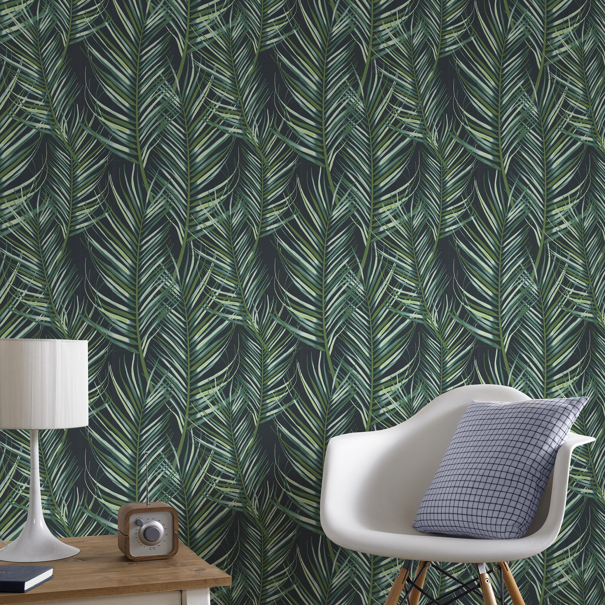 Palm Leaf Green Wallpaper Green Wallpaper Superfresco Easy