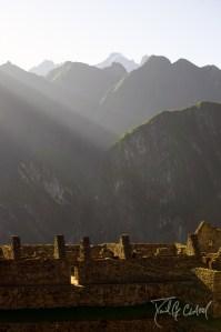 Architecture of the Sky II Machu Pichu Peru