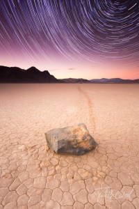 Death Valley Star Trails