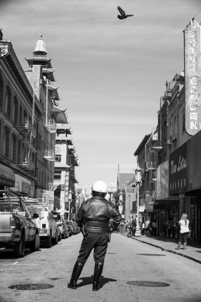 Chinatown in B&W