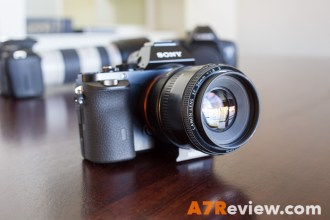Sony A7R with the Canon 50mm 1.8 and Metabones EF