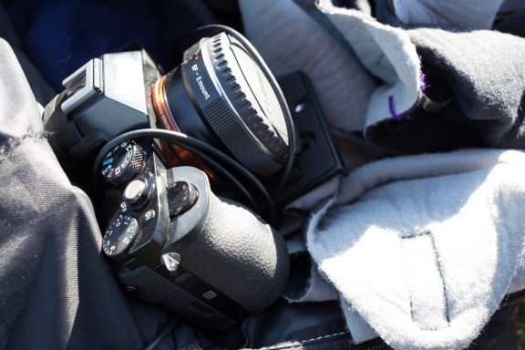 Sony A7R with Metabones EF Adapter without lens durability