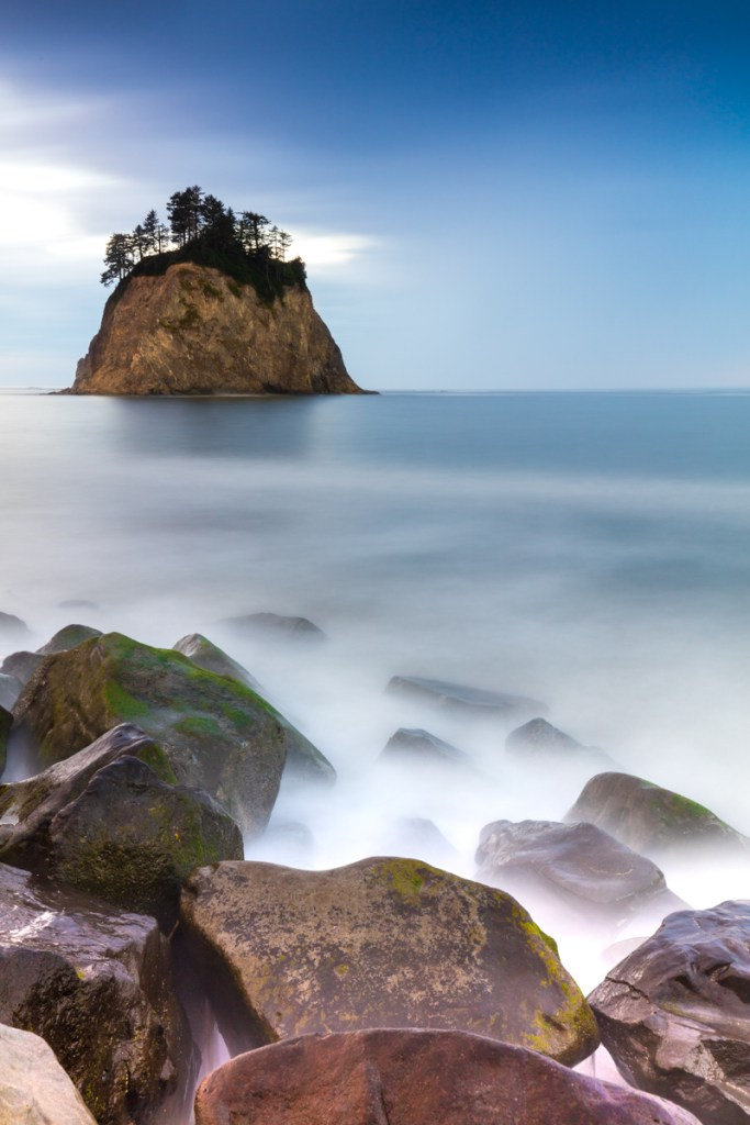 Rialto Beach Canon 5Ds R with Canon 16-35 F4 IS with X3 ND 6-stop ND Filter Long Exposure Image