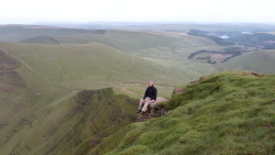Filming Iolo's Beacons