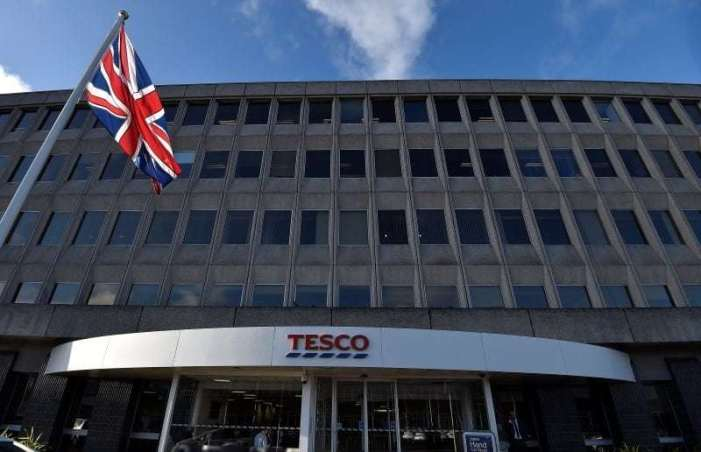 The head office of Tesco is seen in Cheshunt, in southern England January 8, 2015. REUTERS/Toby Melville