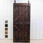 Double Z Sliding Barn Door And Hardware Grain Designs